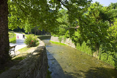 Parque en Samobor Fotografía de archivo