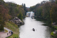 Parque en Ucrania Imagen de archivo libre de regalías