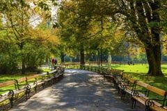 Parque en Viena imagen de archivo