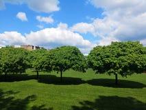 Parque en Zagreb fotos de archivo libres de regalías