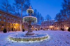 Parque en Zagreb Croacia imágenes de archivo libres de regalías