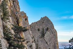 Parque estadual bonito Colorado da garganta do eldorado fotos de stock
