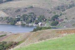 Parque estadual da costa de Sonoma - Sonoma County do noroeste, Califórnia imagem de stock