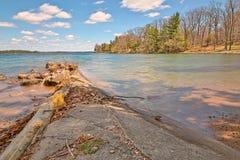 Parque estadual da ilha de Wellesley - HDR Fotografia de Stock Royalty Free