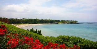 Parque estadual da praia de Hapuna Imagem de Stock Royalty Free