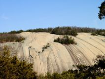 Parque estadual de pedra da montanha Fotos de Stock