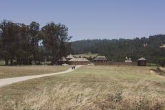 Parque estadual de Ross do forte em Califórnia, EUA Imagens de Stock Royalty Free