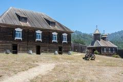 Parque estadual de Ross do forte em Califórnia, EUA Imagens de Stock