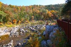 Parque estadual do Fechar-ins de Johnson, Reynolds County, Missouri Foto de Stock Royalty Free