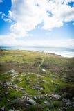 Parque estadual do ponto de sal foto de stock royalty free