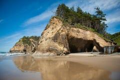 Parque estadual do ponto do abraço em Oregon Fotos de Stock