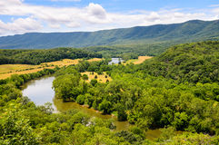 Parque estadual do rio de Shenandoah Fotos de Stock