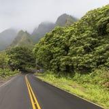 Parque estadual do vale de Iao em Maui Havaí Fotos de Stock