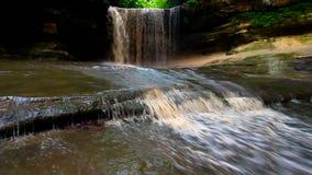 Parque estadual esfomeado Illinois da rocha vídeos de arquivo
