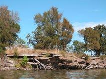 Parque estadual nacional Cherokee da angra de Sallisaw, Sallisaw, APROVAÇÃO fotografia de stock
