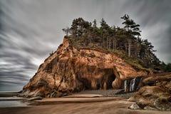 Parque estadual, Oregon e cachoeira do ponto do abraço imagens de stock royalty free