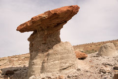 Parque estadual vermelho da garganta da rocha, Califórnia, EUA Foto de Stock