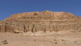 Parque estadual vermelho da garganta da rocha em Califórnia vídeos de arquivo