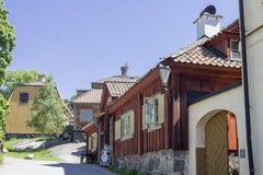 Parque Estocolmo Suecia de Skansen Fotos de archivo libres de regalías