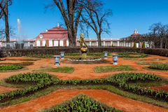 Parque famoso de la fuente Foto de archivo libre de regalías