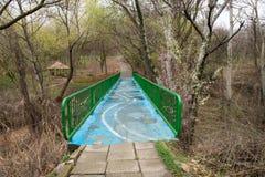 Parque fotografiado de la primavera Imagen de archivo