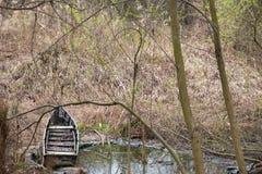 Parque fotografiado de la primavera Fotos de archivo