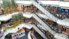 Parque futuro Rangsit, o armazém o maior com a escadaria movente Imagem de Stock