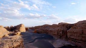 Parque geológico nacional de Yadan Imágenes de archivo libres de regalías