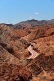 Parque geológico nacional de Zhangye Danxia Fotografía de archivo libre de regalías