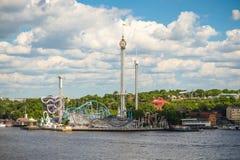 Parque Gröna Lund Fotografía de archivo