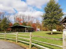 Parque grande del condado del roble, Smyrna de Delaware fotos de archivo