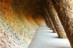 Parque Guell Fotos de archivo libres de regalías