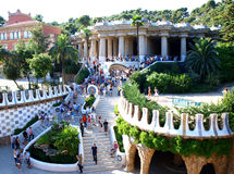 Parque Guell Imagens de Stock Royalty Free