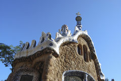 Parque Guell Imagens de Stock Royalty Free