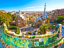 Parque Guell Fotos de Stock Royalty Free
