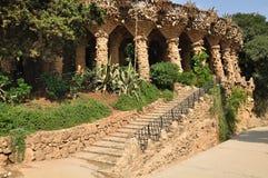 Parque Guell. Barcelona. Fotografia de Stock