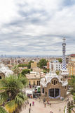 Parque Guell, Barcelona Foto de archivo