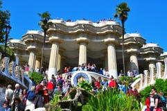 Parque Guell, Barcelona, Spain Foto de Stock