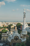Parque Guell de Barcelona Fotografia de Stock