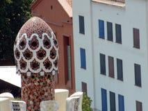 Parque Guell del arquitecto Antoni Gaudi Imágenes de archivo libres de regalías