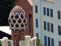 Parque Guell del arquitecto Antoni Gaudi Foto de archivo libre de regalías