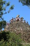 Parque Guell - EL Calvario Fotos de archivo