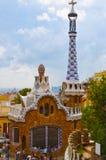 Parque Guell em Barcelona, Spain foto de stock royalty free
