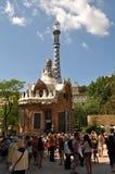 Parque Guell em Barcelona Spain Imagem de Stock Royalty Free