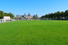 Parque hermoso de Amsterdam Imagen de archivo libre de regalías