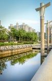 Parque hermoso de la ciudad en la China Fotografía de archivo