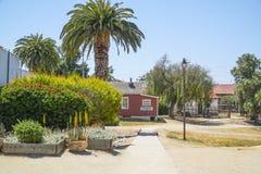 Parque hermoso de San Diego Old Town Historic State - SAN DIEGO - CALIFORNIA - 21 de abril de 2017 Imágenes de archivo libres de regalías