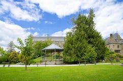 Parque hermoso del jardín en verano Fotografía de archivo