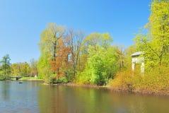 Parque hermoso del resorte Imagen de archivo libre de regalías