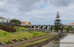 Parque hermoso en Ribeira grande Imagen de archivo libre de regalías